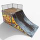 Small Skate Ramp PBR