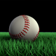 Rolling Baseball Over Grass - VideoHive Item for Sale