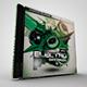 Electro Dance Music CD/DVD Template