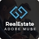 RealArea - Adobe Muse RealEstate Template