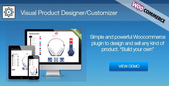 Download Visual Product Designer/Customizer for Woocommerce nulled download
