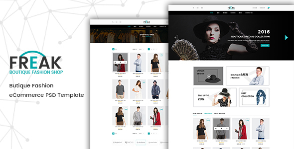Freak - eCommerce Fashion Template