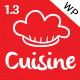 Cuisine - Responsive Restaurant WordPress Theme