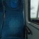 Shot Inside of Modern Empty Train Wagon