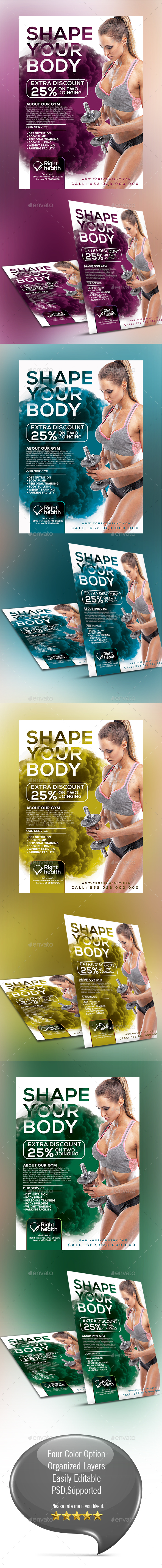 Fitness/Gym Flyer 001