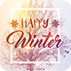 Happy Winters Party Flyer