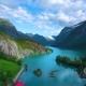 Lovatnet Lake Beautiful Nature Norway