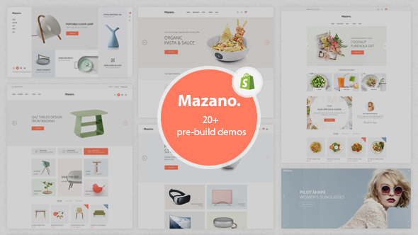 Download Mazano - Ultimate Responsive Shopify Theme nulled download