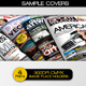 Four Premium Magazine Cover Designs - GraphicRiver Item for Sale