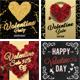Valentines Day Banner Set