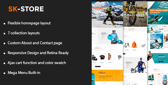 Download SK - Store Responsive Shopify Theme nulled download