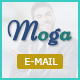 Moga-Responsive Email Template + Online Builder