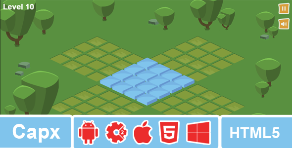 Isometric Puzzle - Construct 2 Puzzle Game