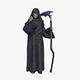 Grim Reaper Death Rigged