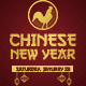 Chinese New Year - Flyer