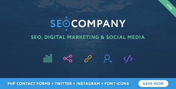 SEO - Seo Company - Seo & Digital Agency HTML Template