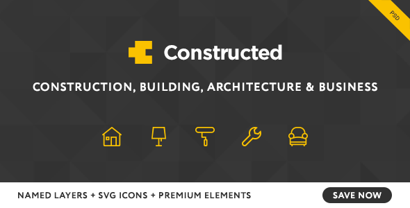 Constructed - Construction PSD Template