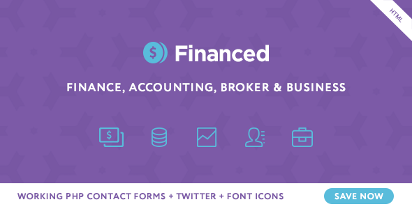 Financed - Finance Company HTML Template