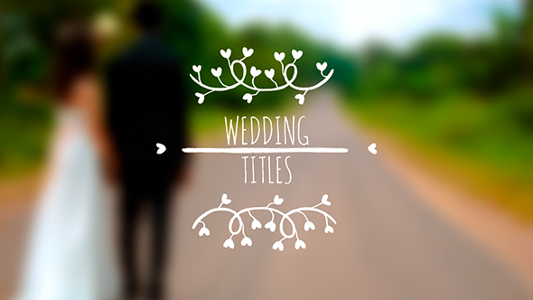VideoHive Wedding Titles 19288947