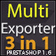Prestashop Multi Exporter