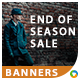 End of Season Sale Banners