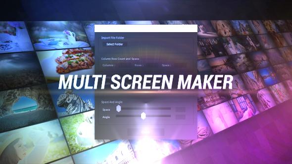 VideoHive Multi Screen Maker 19277984