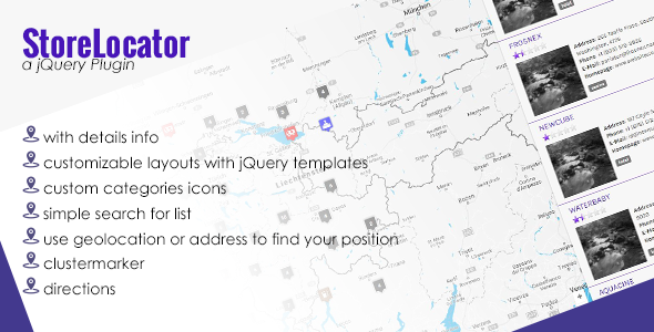 Download jQuery Store Locator nulled download