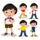 Download Vector Boy with Black Hair