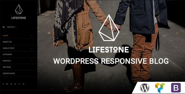 Download Lifestone WordPress Responsive Blog Theme nulled download