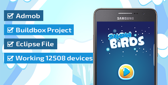 Download SNOW BIRDS WITH ADMOB - BUILDBOX & ECLIPSE PROJECT nulled download