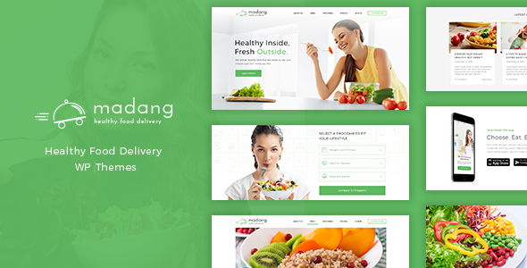 Download Madang - Healthy Food Delivery WordPress Theme nulled download