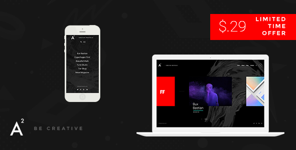 Download A2 - Creative WordPress Theme nulled download