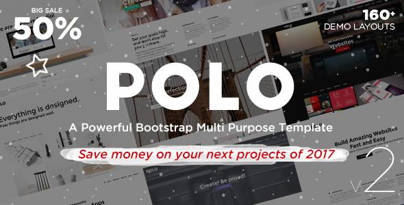 Polo - Responsive Multi-Purpose HTML5 Template