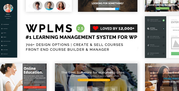 WPLMS Learning Management System