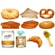 Download Vector Different Kinds of Bread and Desserts