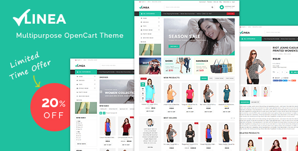 Download Linea - Multipurpose Responsive OpenCart Theme nulled download