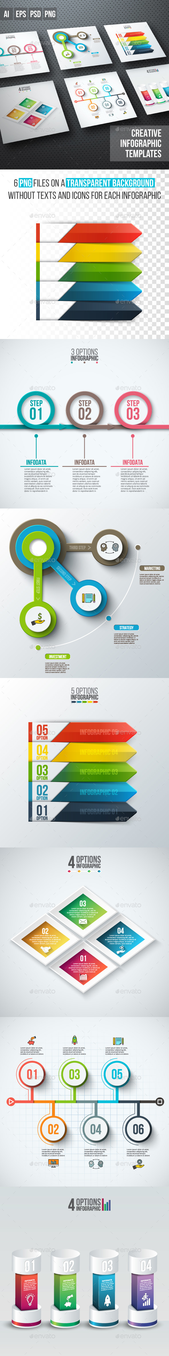 Business infographic diagrams v.09