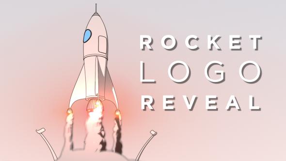 VideoHive Rocket Logo Reveal 19290627