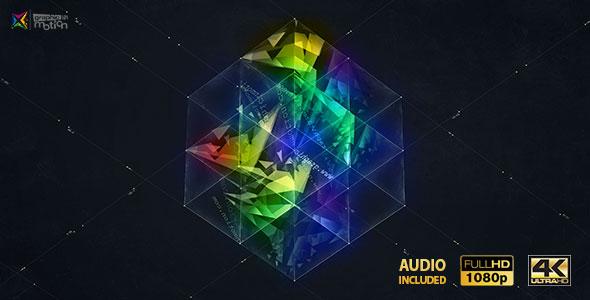 VideoHive 3D Magic Cube Logo Reveal 19290631