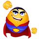 Super Hero Emoticon