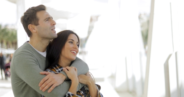 VideoHive Loving Young Couple Sharing a Quiet Moment 19290988
