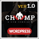 Gym - Champ, Fitness & Yoga WordPress Theme