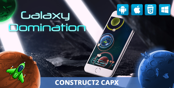 Download Galaxy Domination Memory- HTML5 Game (Capx)