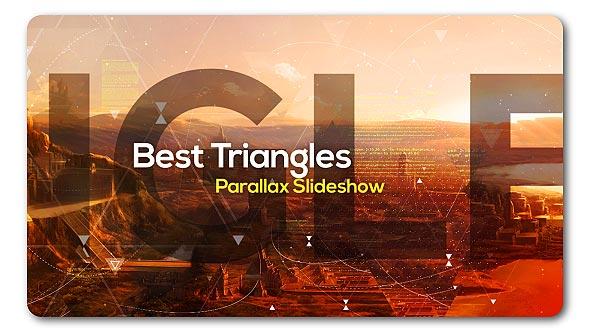 VideoHive Best Triangles Parallax Slideshow 19291818