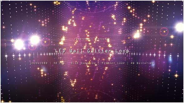 VideoHive LED Wall Glitter 5 19291878