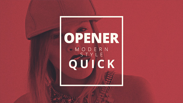 VideoHive Fast Quick Opener 19291934
