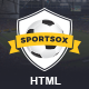 Sportsox | Sport Team Clubs HTML Template