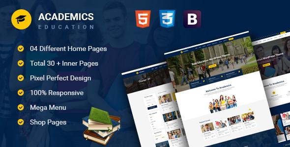 Academics – Education HTML Template (Business enterprise)