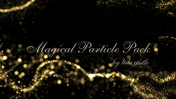 VideoHive Magical Particle Pack 19292316