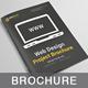 Dark Web Design Brochure